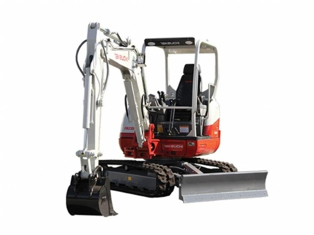 Detail photo of 2018 Takeuchi TB235-2 from Construction Equipment Guide