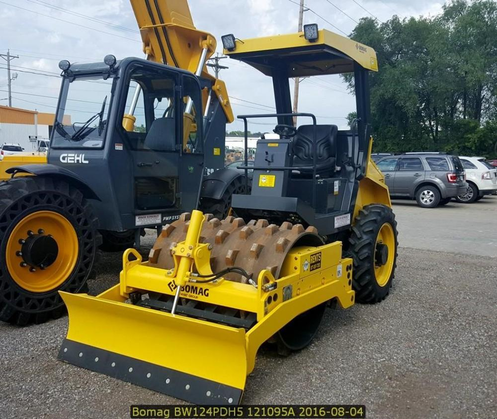 Detail photo of 2016 Bomag BW 124 PDH-40 from Construction Equipment Guide