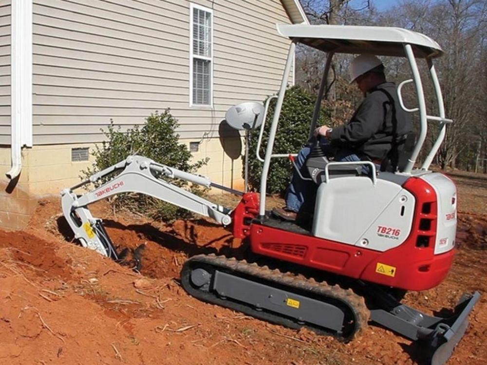 Detail photo of 2019 Takeuchi TB216R from Construction Equipment Guide