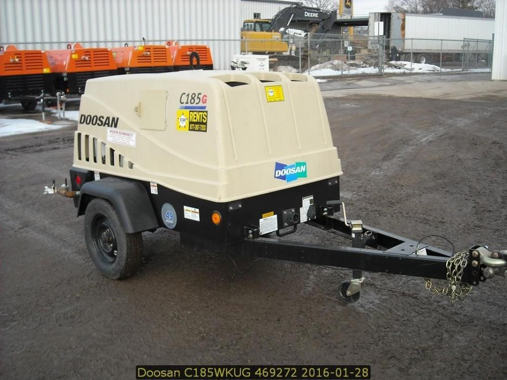 Detail photo of 2015 Doosan Portable Power C185WKU from Construction Equipment Guide