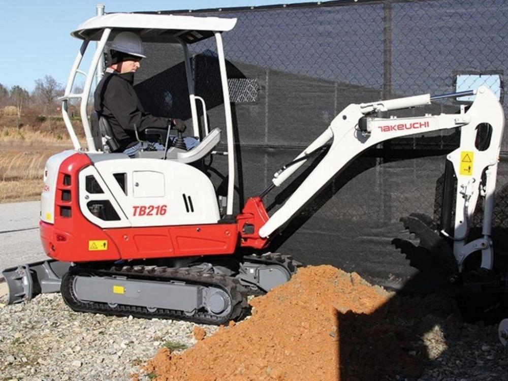 Detail photo of 2019 Takeuchi TB216 from Construction Equipment Guide