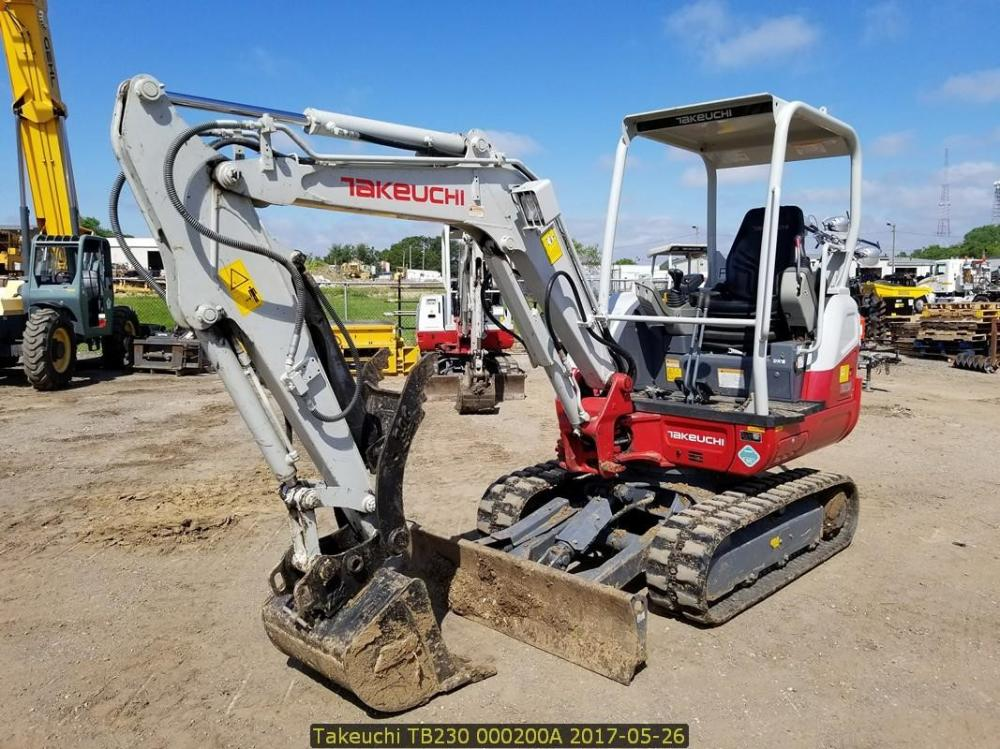 Detail photo of 2015 Takeuchi TB230 from Construction Equipment Guide