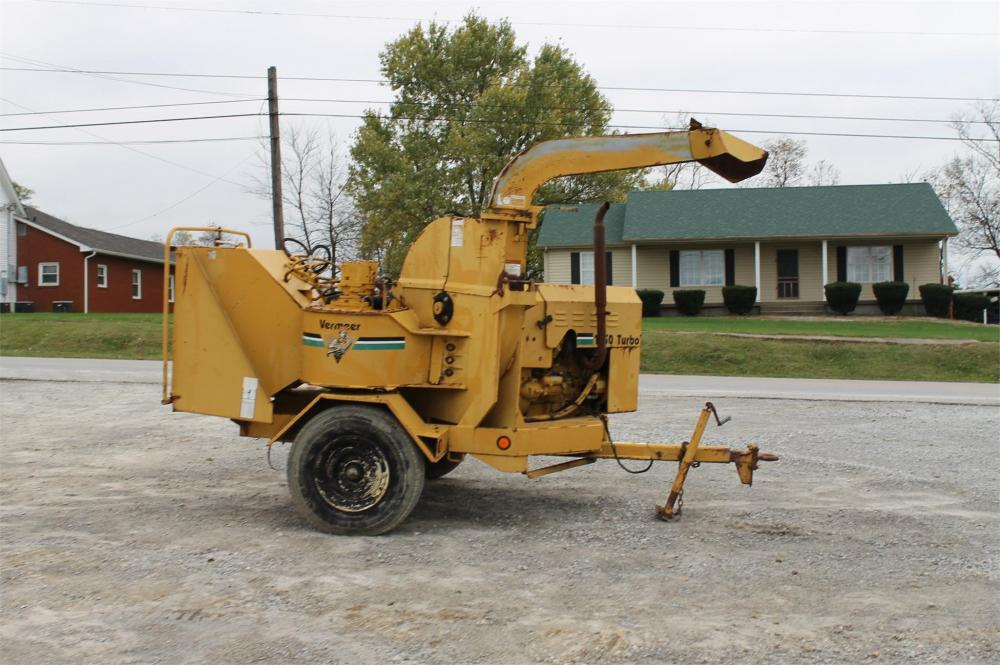 Detail photo of 1991 Vermeer BC1250 from Construction Equipment Guide