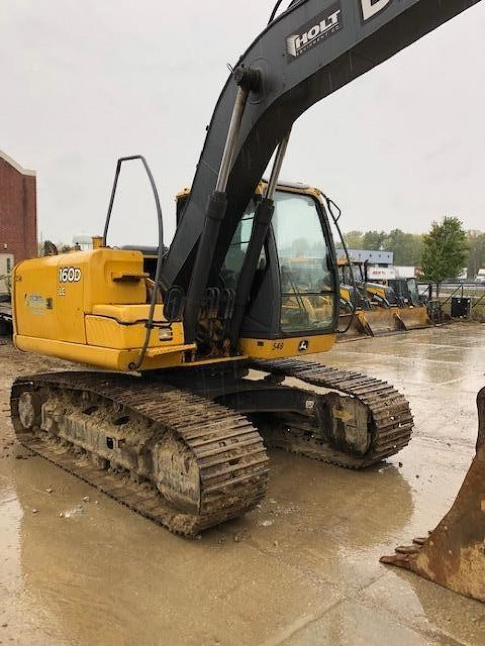 Detail photo of 2008 John Deere 160D LC from Construction Equipment Guide
