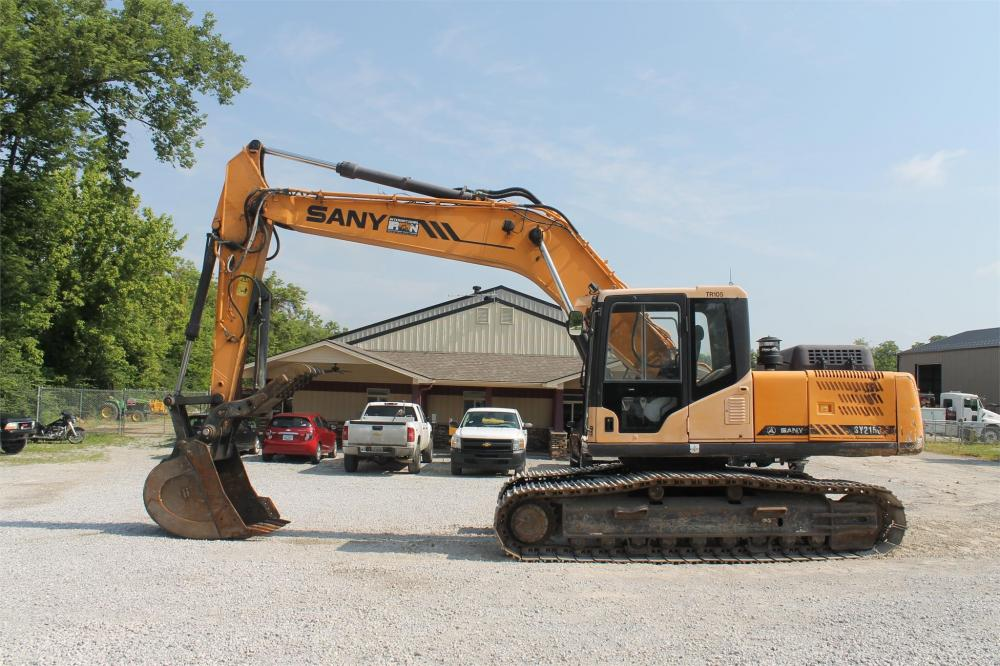 Detail photo of 2013 Sany SY215C LC from Construction Equipment Guide