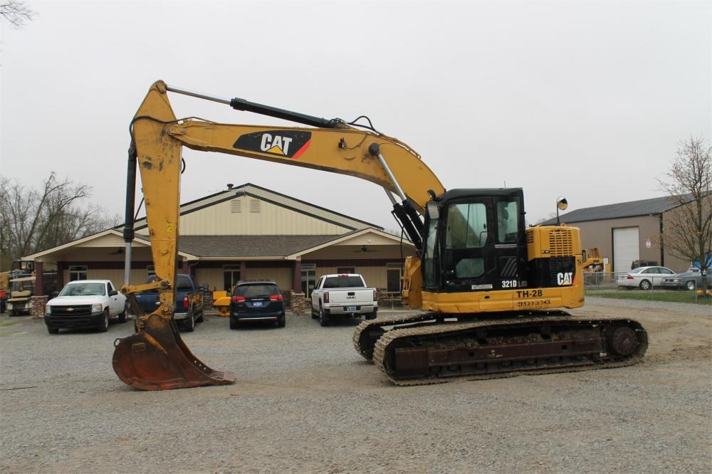 Detail photo of 2012 Caterpillar 321D LCR from Construction Equipment Guide