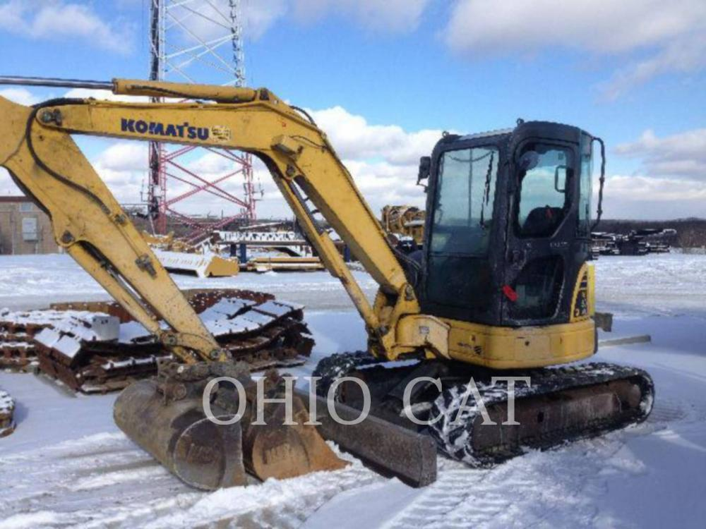Detail photo of 2007 Komatsu PC50 from Construction Equipment Guide