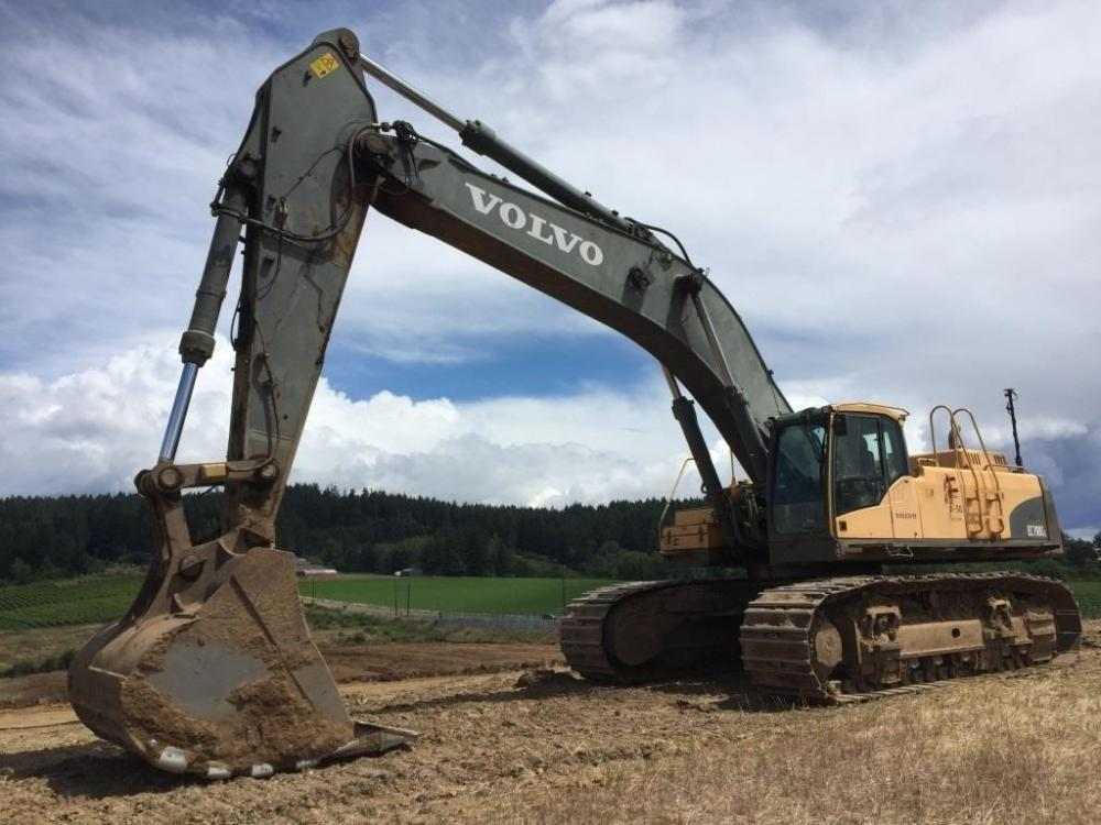 Detail photo of 2008 Volvo EC700CL from Construction Equipment Guide