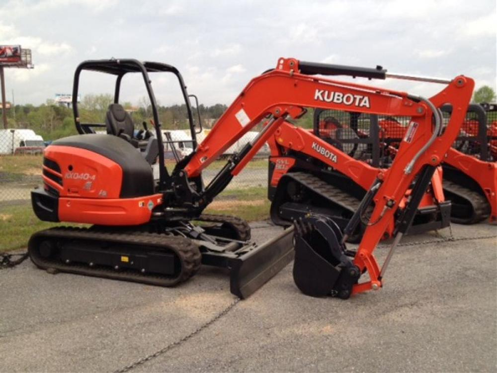Detail photo of 2016 Kubota KX040 from Construction Equipment Guide