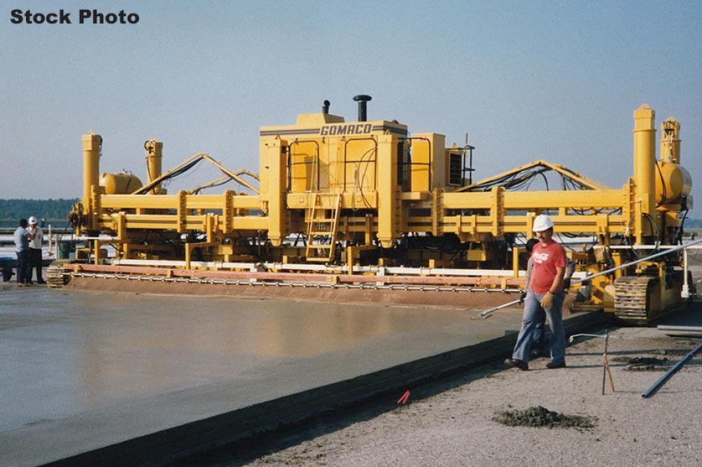 Detail photo of 1992 Gomaco GP-3000 from Construction Equipment Guide