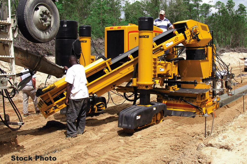 Detail photo of 2000 Gomaco GT-3600 from Construction Equipment Guide