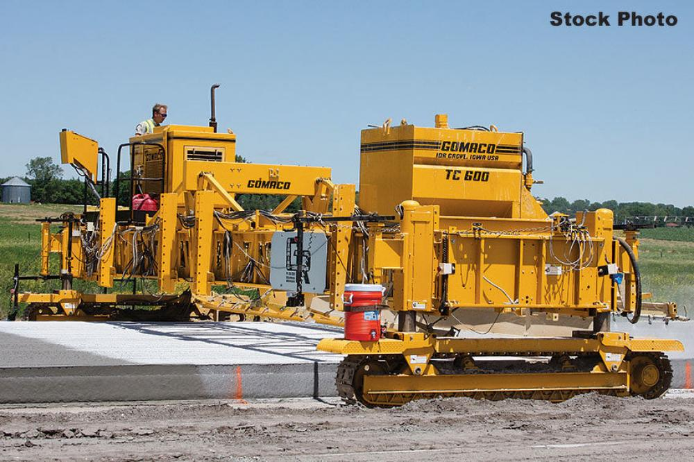 Detail photo of 1995 Gomaco TC600 from Construction Equipment Guide