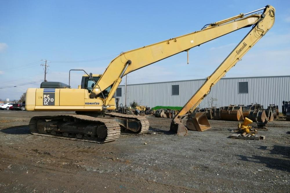 Detail photo of 2006 Komatsu PC270LC-7 from Construction Equipment Guide