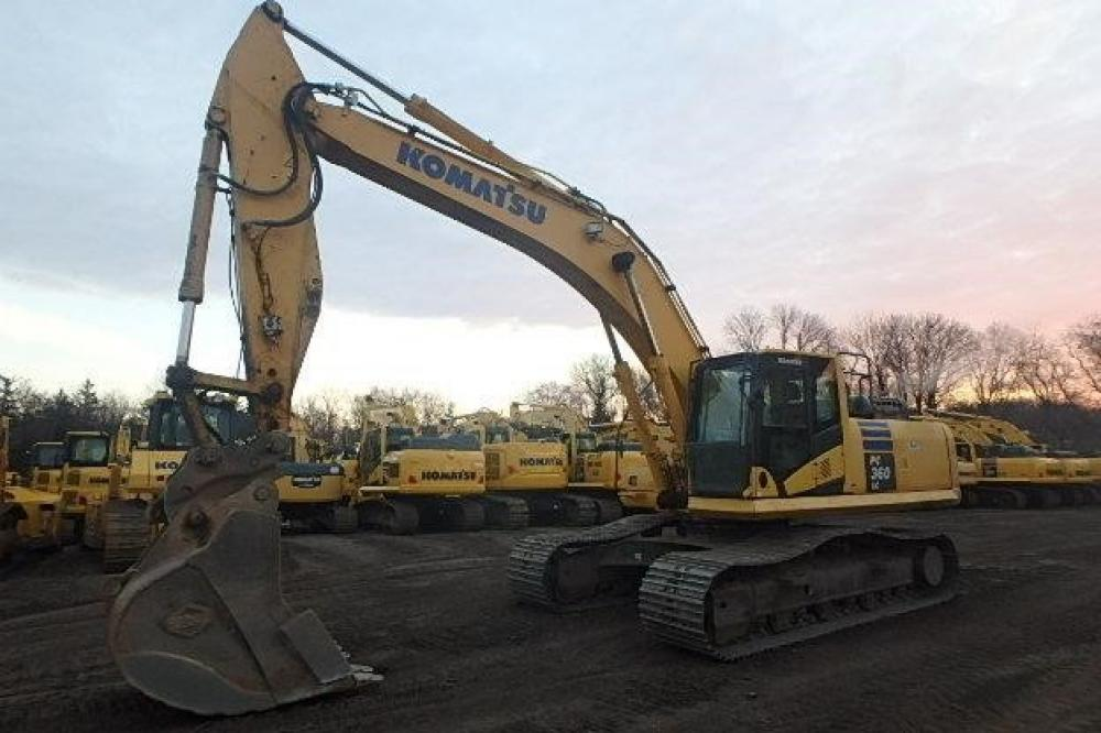 Detail photo of 2011 Komatsu PC360LC-10 from Construction Equipment Guide