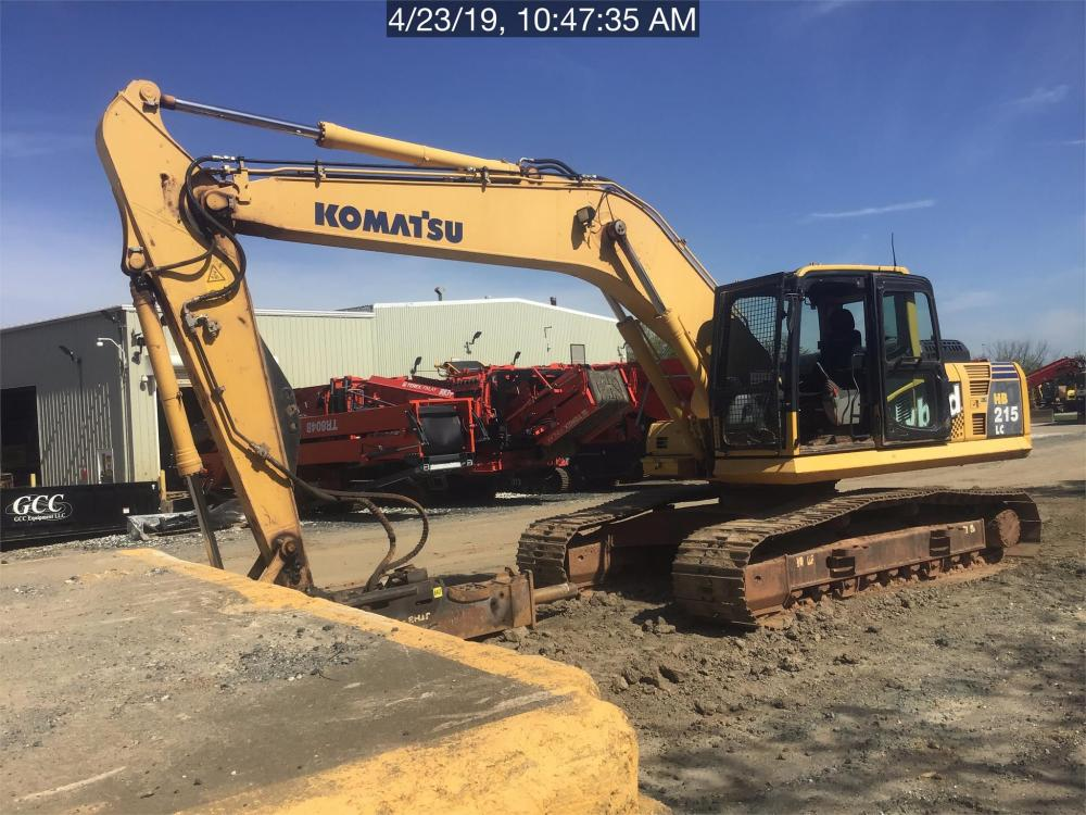 Detail photo of 2016 Komatsu HB215 LC-1 from Construction Equipment Guide