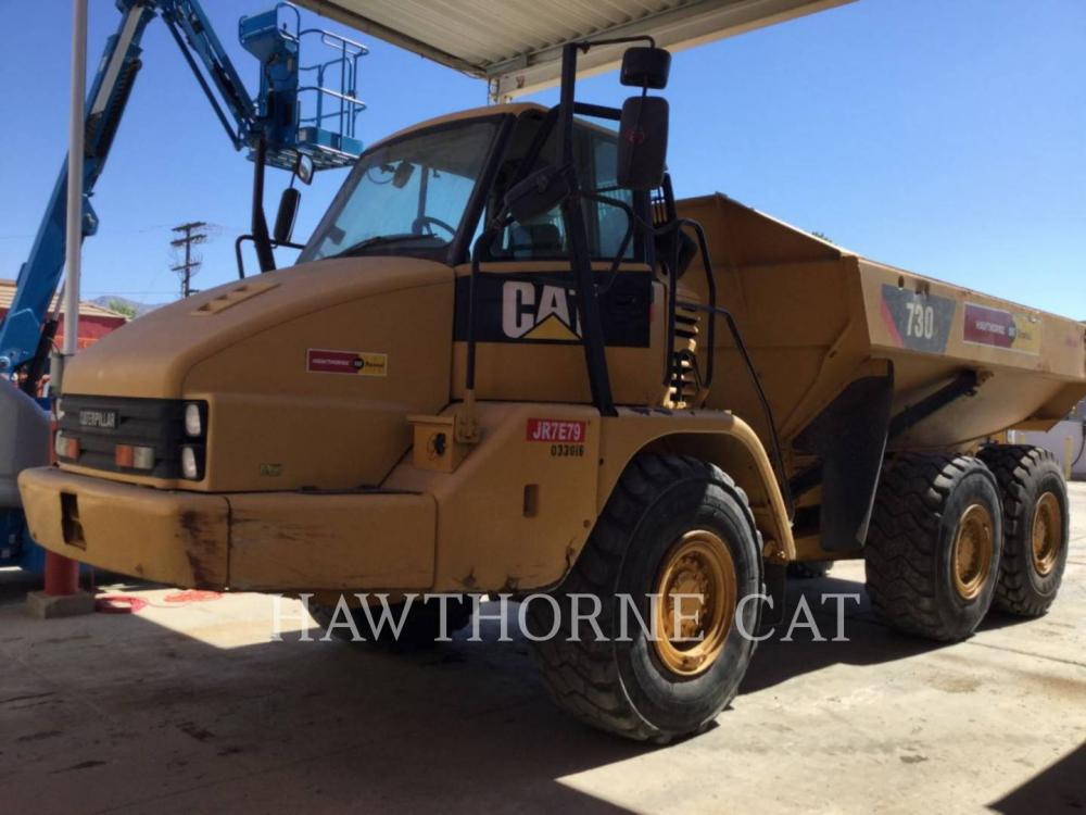 Detail photo of 2011 Caterpillar 730 from Construction Equipment Guide