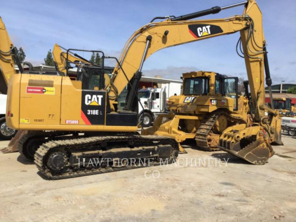 Detail photo of 2015 Caterpillar 318E from Construction Equipment Guide