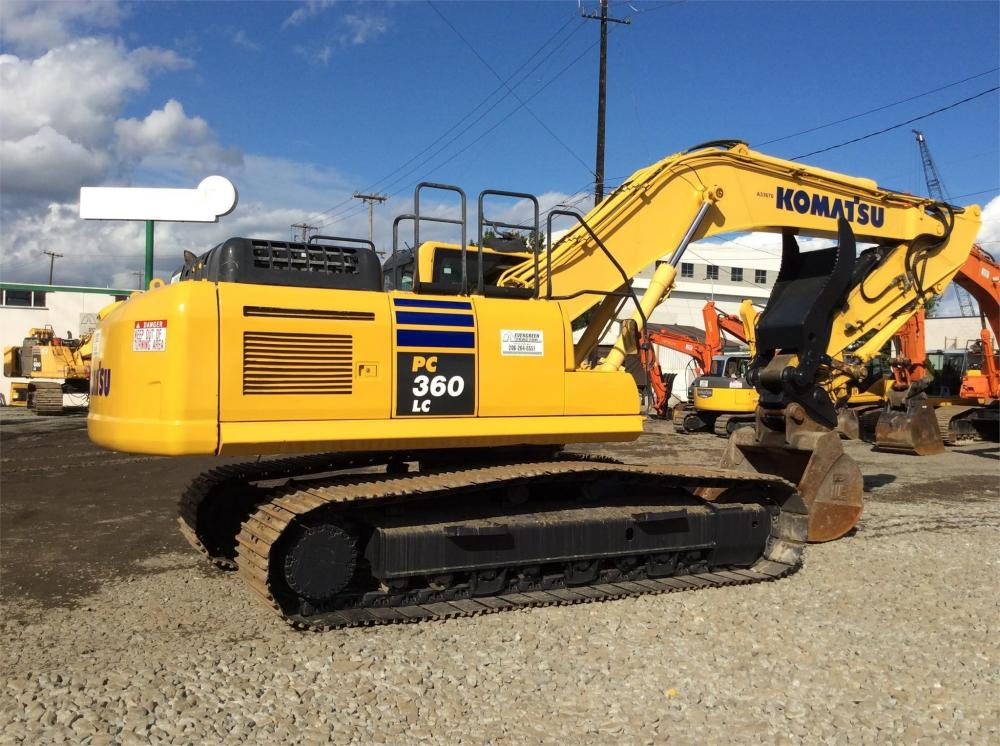 Detail photo of 2014 Komatsu PC360LC-10 from Construction Equipment Guide