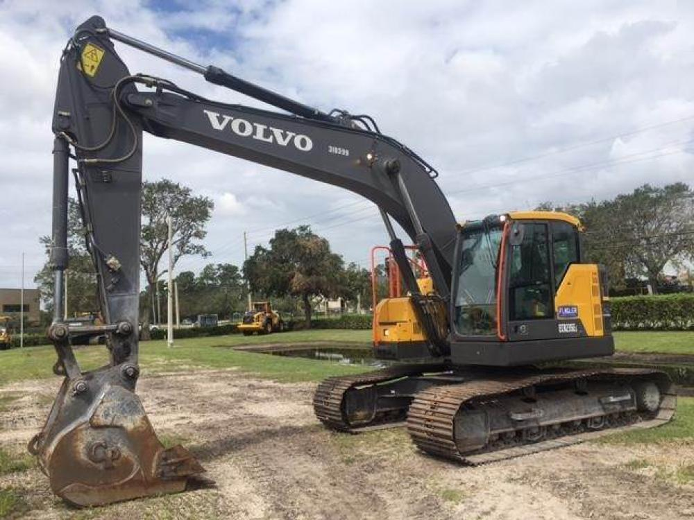 Detail photo of 2016 Volvo ECR235EL from Construction Equipment Guide