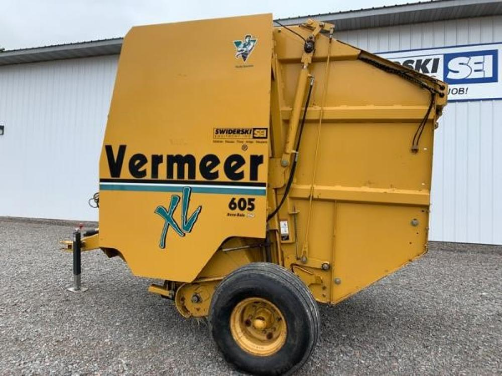 Detail photo of  Vermeer 605XL from Construction Equipment Guide