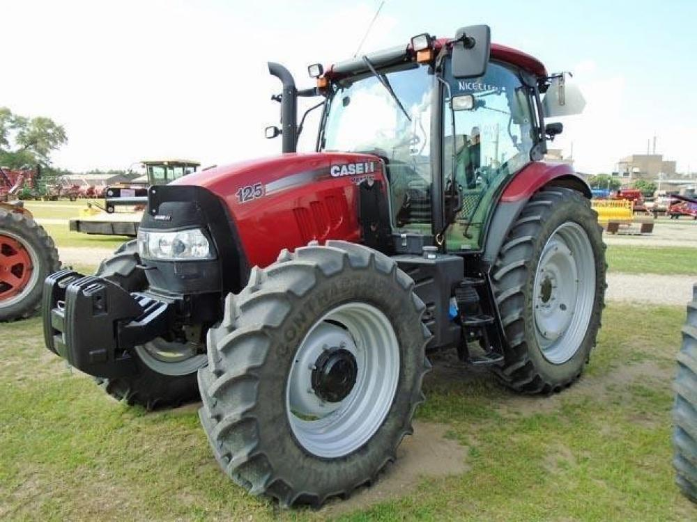 Detail photo of 2014 Case IH MAXXUM 125 from Construction Equipment Guide