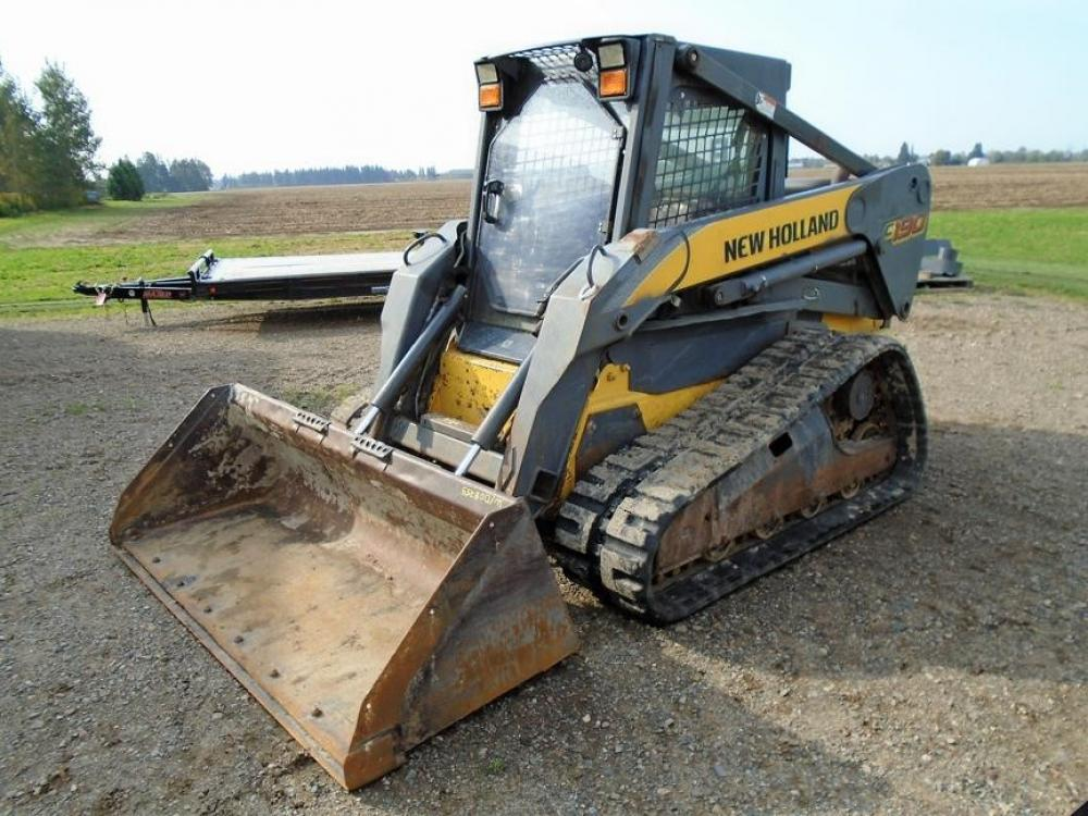Detail photo of 2008 New Holland C190 from Construction Equipment Guide
