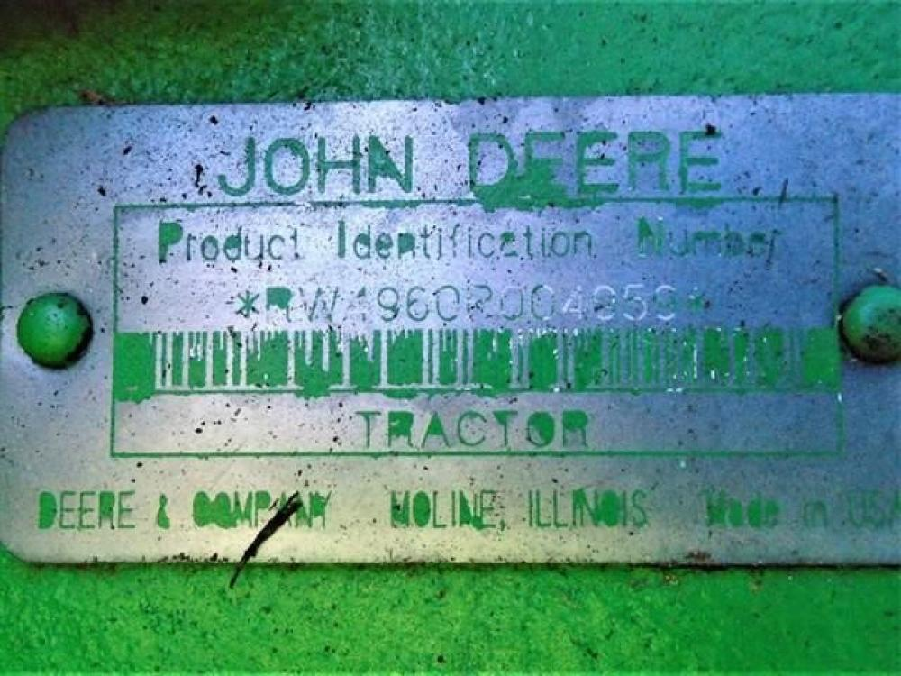 Detail photo of 1993 John Deere 4960 from Construction Equipment Guide