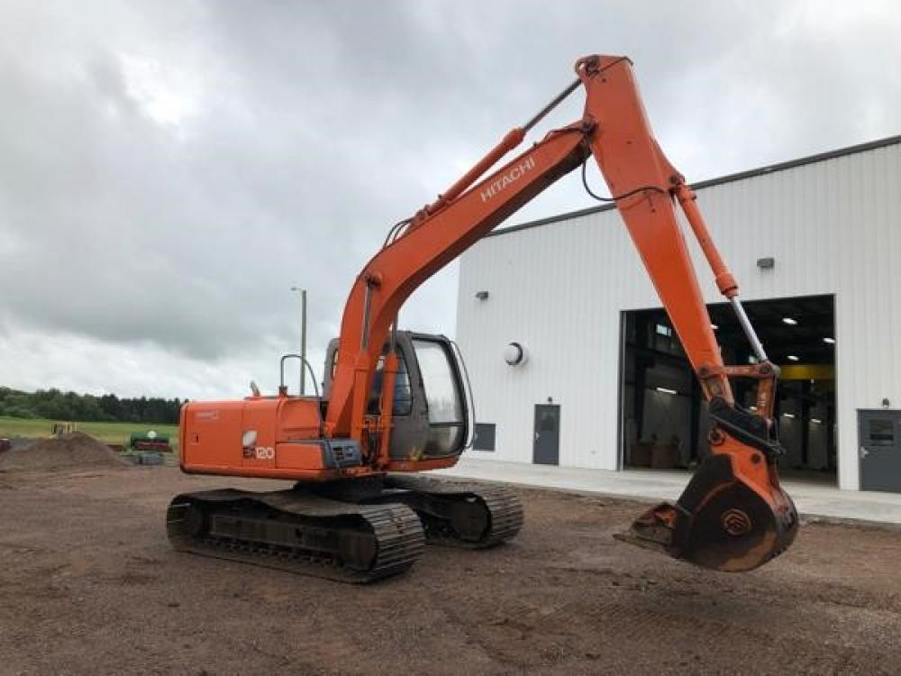 Detail photo of  Hitachi EX120-5 from Construction Equipment Guide