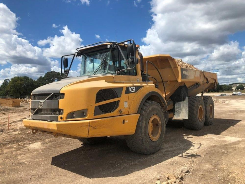 Detail photo of 2014 Volvo A25F from Construction Equipment Guide