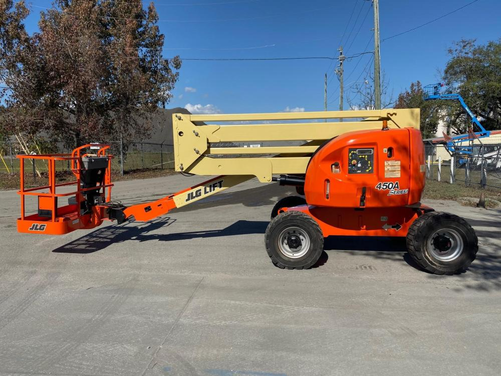 Detail photo of 2011 JLG 450A II from Construction Equipment Guide