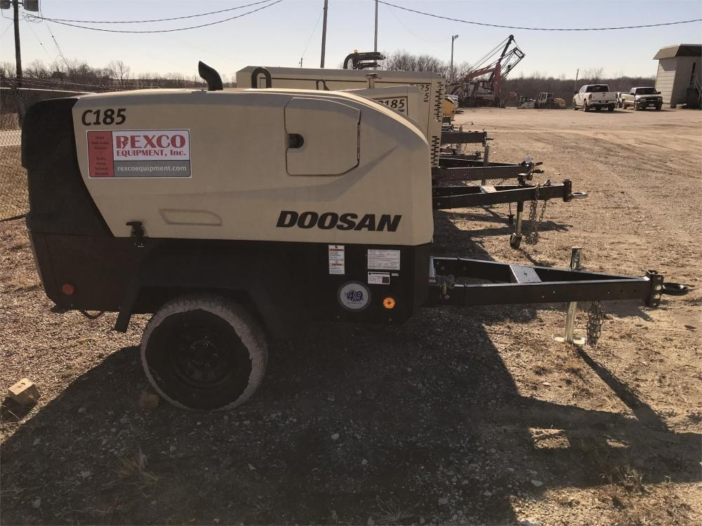 Detail photo of 2019 Doosan Portable Power C185WDOT4F from Construction Equipment Guide