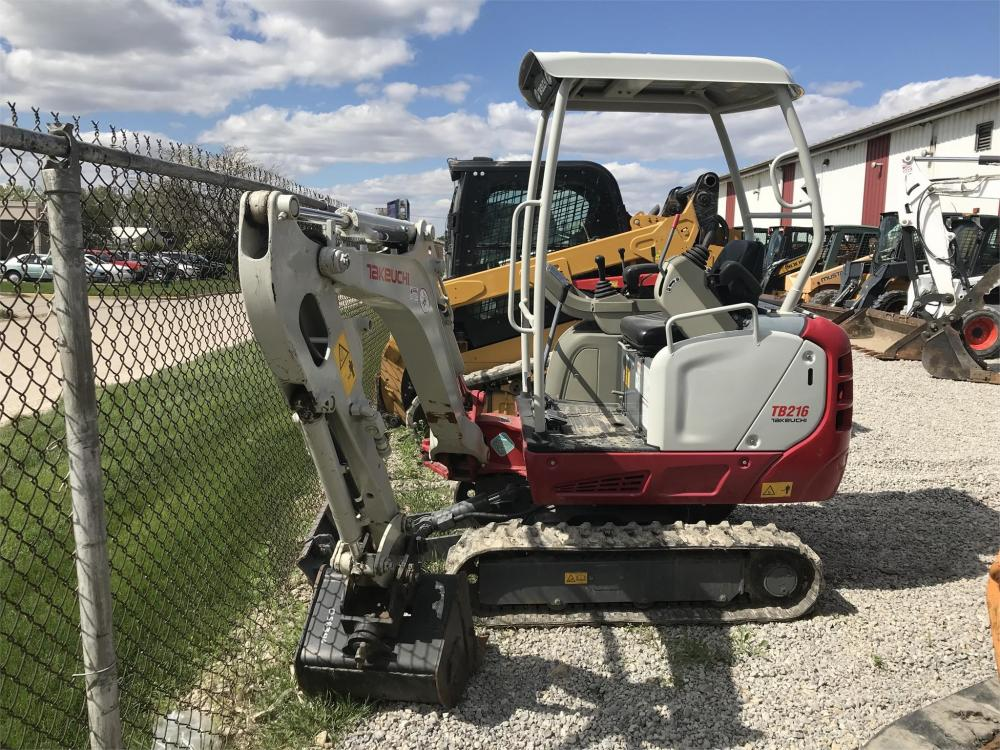 Detail photo of 2015 Takeuchi TB216 from Construction Equipment Guide