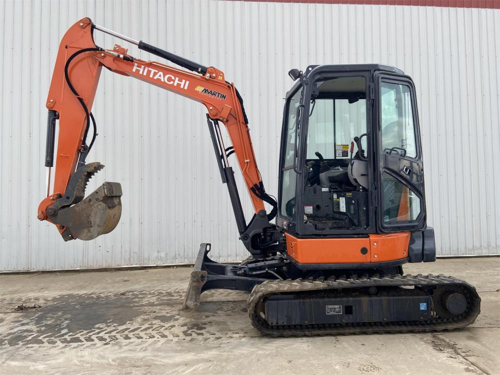 Detail photo of 2018 Hitachi ZX35U-5 from Construction Equipment Guide