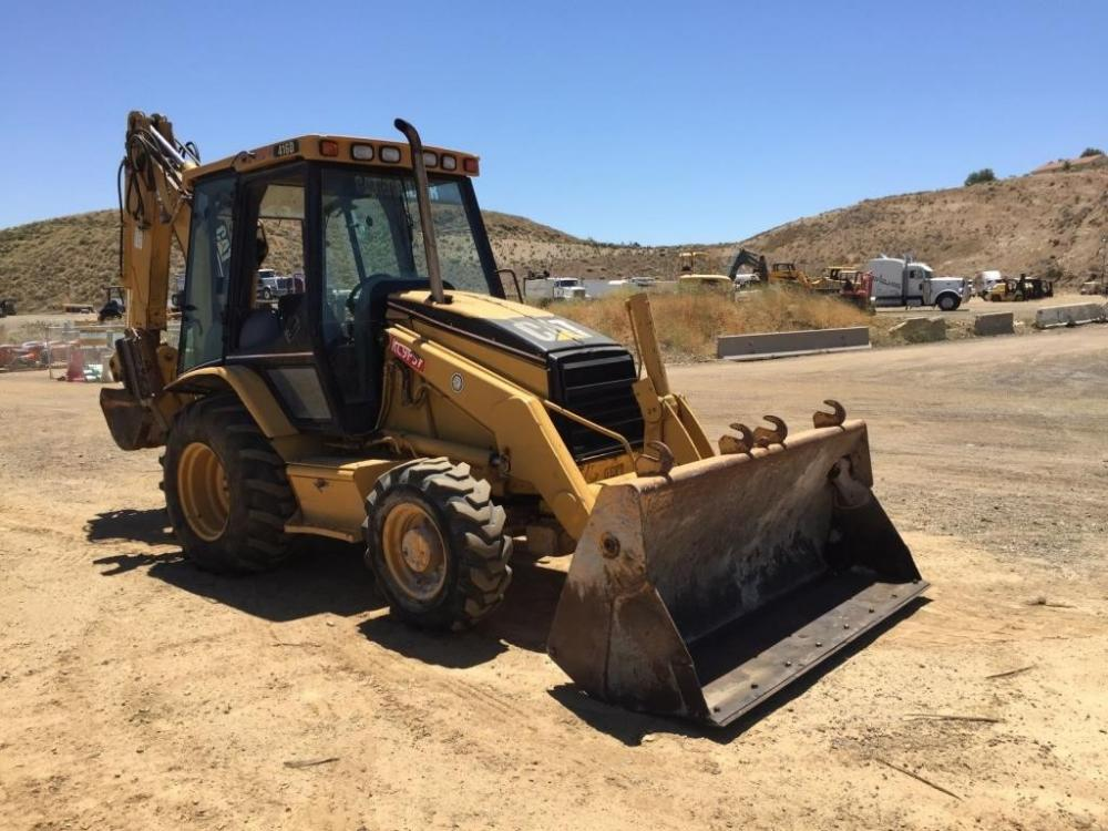 Detail photo of 2001 Caterpillar 416D from Construction Equipment Guide
