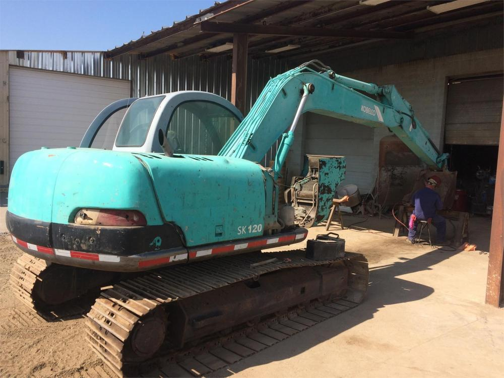 Detail photo of 1997 Kobelco SK120 from Construction Equipment Guide