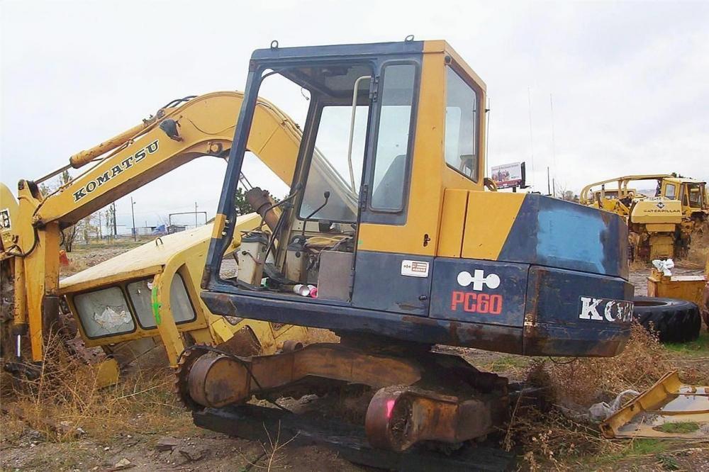 Detail photo of  Komatsu PC60 from Construction Equipment Guide