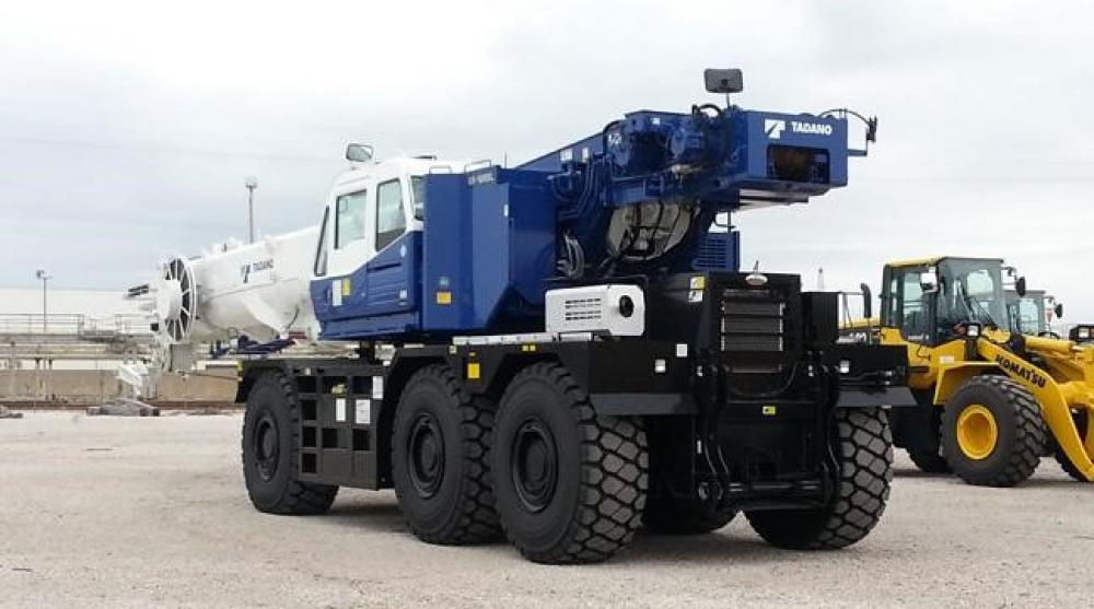 Detail photo of 2018 Tadano GR-1600XL-2 from Construction Equipment Guide