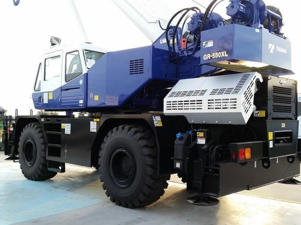 Detail photo of 2017 Tadano GR-550XL-2 from Construction Equipment Guide