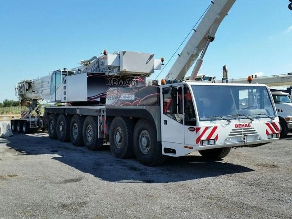 Detail photo of 2002 Demag AC180 from Construction Equipment Guide