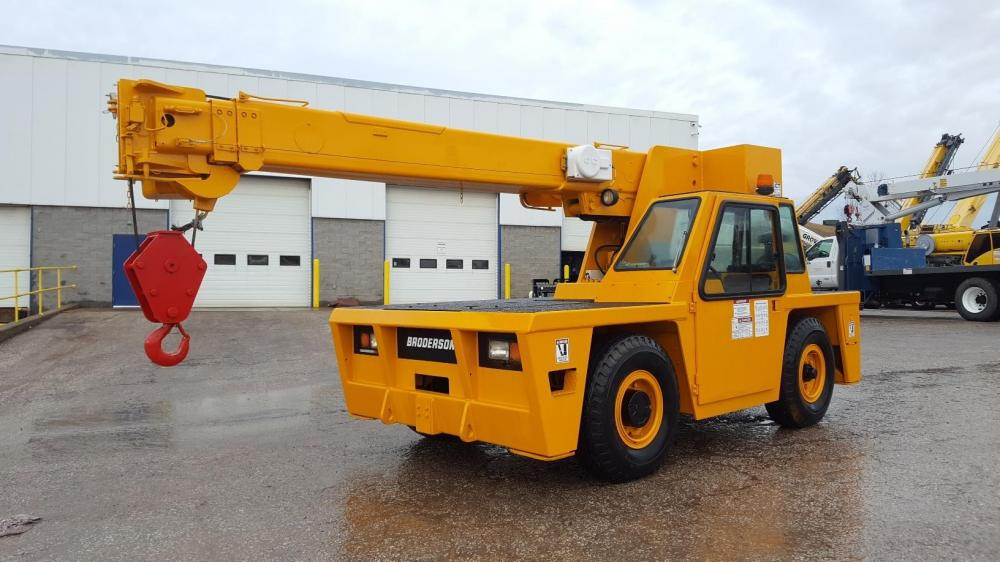 Detail photo of 2009 Broderson IC-80-3H from Construction Equipment Guide