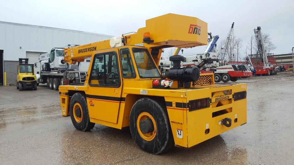 Detail photo of 2012 Broderson IC-80-3J from Construction Equipment Guide