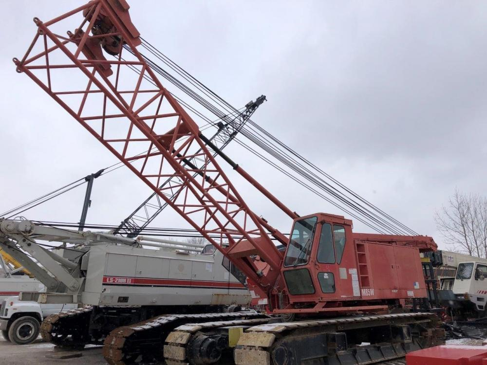 Detail photo of 1992 Manitowoc M85W from Construction Equipment Guide