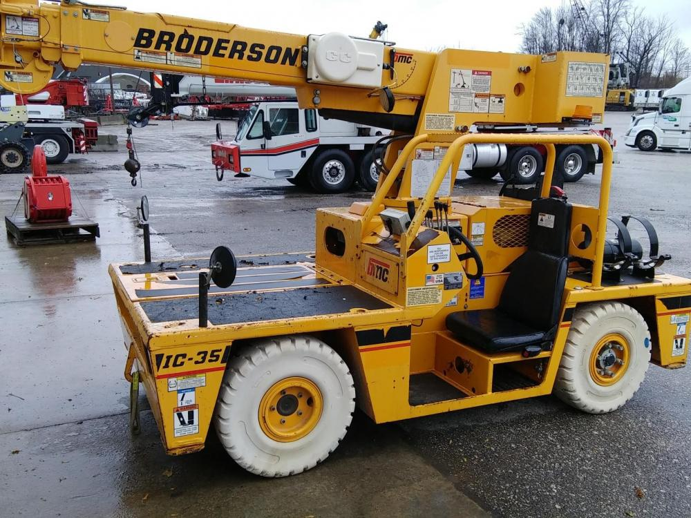 Detail photo of 2012 Broderson IC-35-2F from Construction Equipment Guide
