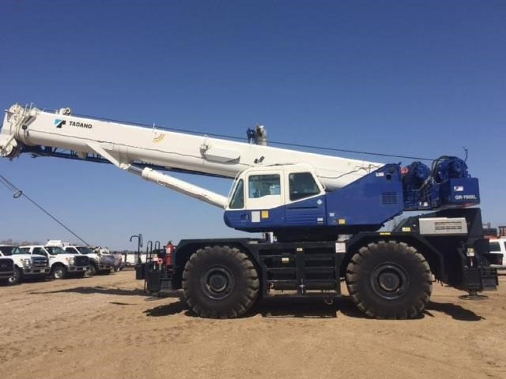 Detail photo of 2013 Tadano GR-750XL from Construction Equipment Guide