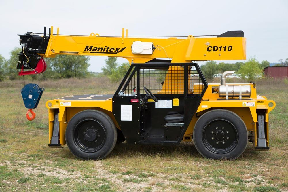 Detail photo of 2019 Manitex CD110 from Construction Equipment Guide