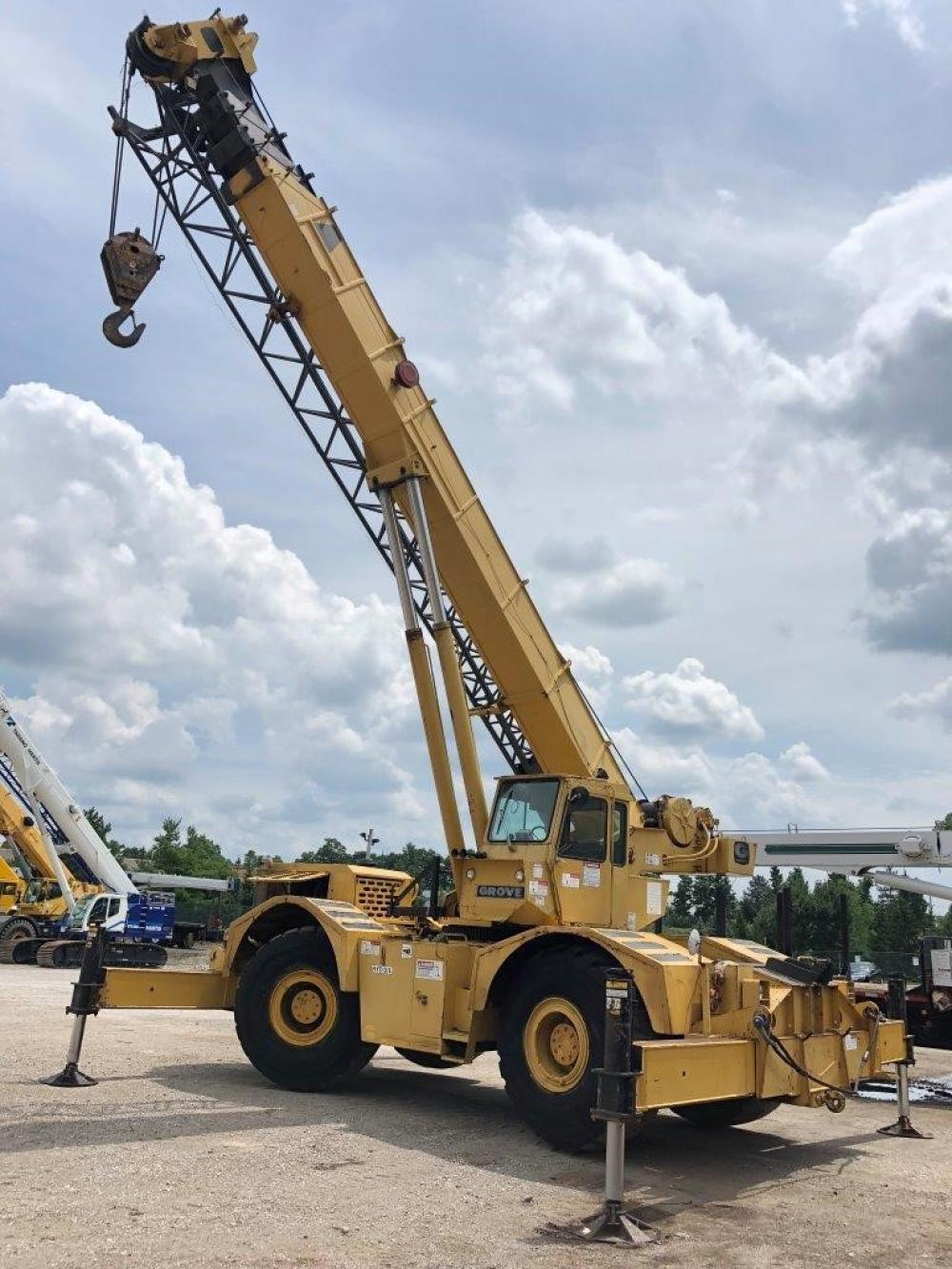 Detail photo of  Grove RT65S from Construction Equipment Guide