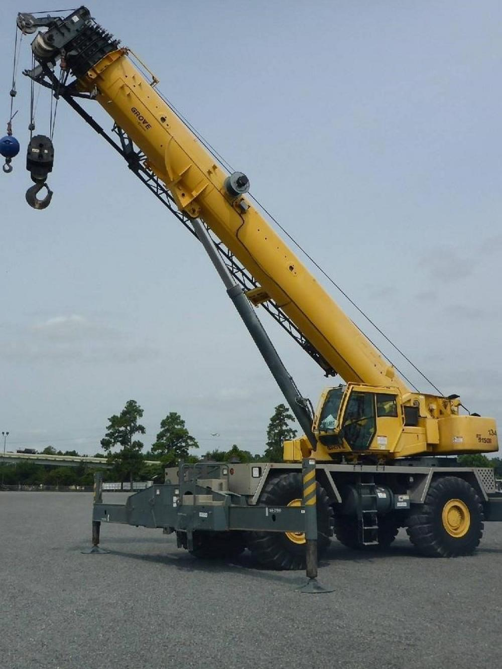 Detail photo of 2011 Grove RT9150E from Construction Equipment Guide