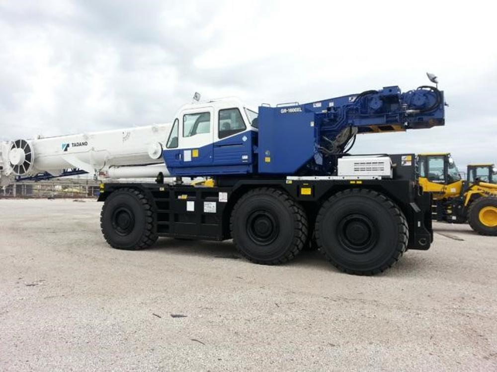 Detail photo of 2019 Tadano GR-1600XL-2 from Construction Equipment Guide