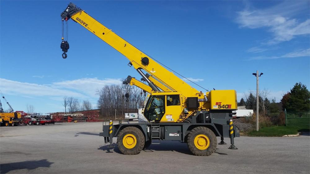 Detail photo of 2012 Grove RT540 from Construction Equipment Guide