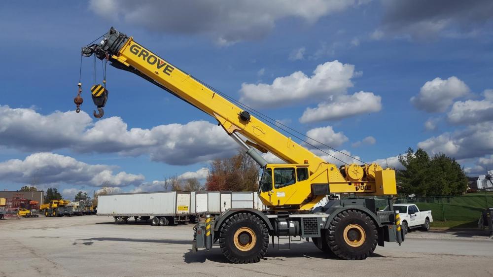 Detail photo of 2003 Grove RT700E from Construction Equipment Guide